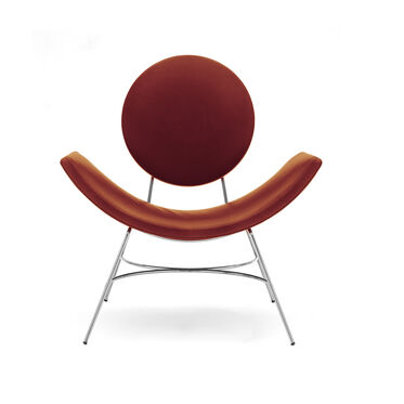 ELROY LEATHER CHAIR, MONT BLANC - CHIANTI, hi-res