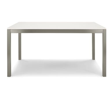 ESSENTIAL PARSONS DINING TABLE - BRUSHED STAINLESS STEEL, , hi-res