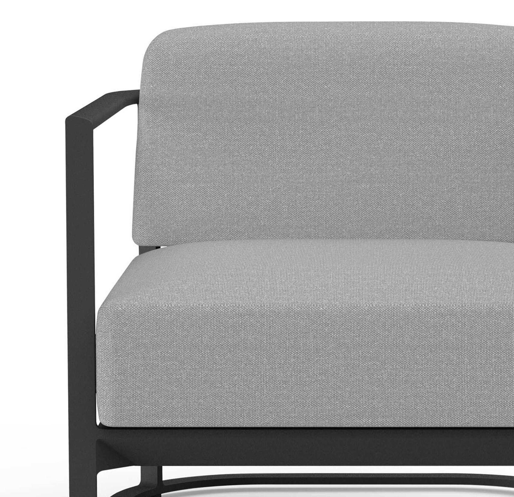 Sanibel Outdoor Lounge Chair Cushion, White Outdoor Lounge Chair Cushions