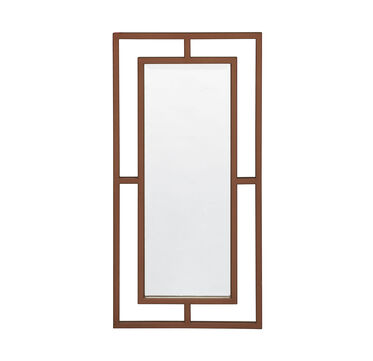 MING MIRROR SATIN BRASS, , hi-res