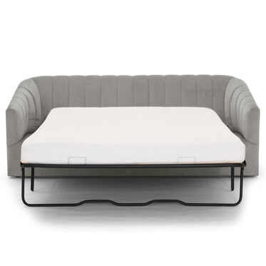 LANDRY CHANNEL TUFTED SLEEPER, PIPPIN - SILVER, hi-res