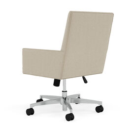 GAGE DESK CHAIR, Performance Textured Pebble Weave - Flax, hi-res