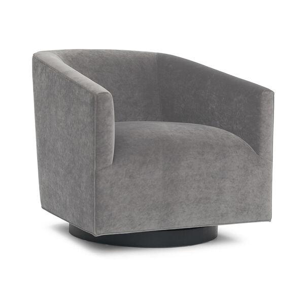 Cooper Swivel Chair, BOULEVARD - LIGHT GREY, hi-res