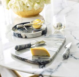 JADE MARBLE CHEESE KNIVES, , hi-res