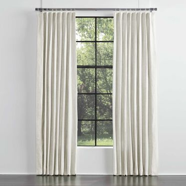 LEGACY BASIC SINGLE PANEL SINGLE PLEAT, LEGACY - PARCHMENT, hi-res