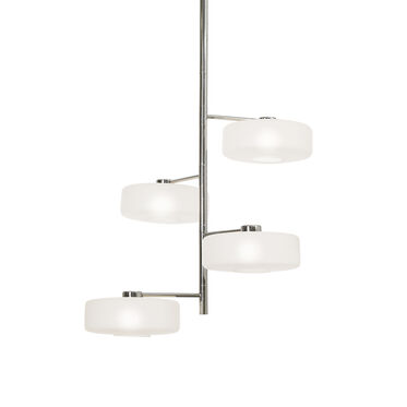 RAZZ PENDANT - POLISHED NICKEL AND FROSTED GLASS, , hi-res