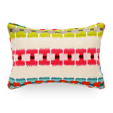 22 X 15 IN. THROW PILLOW, MOROCCAN STRIPE - M, hi-res