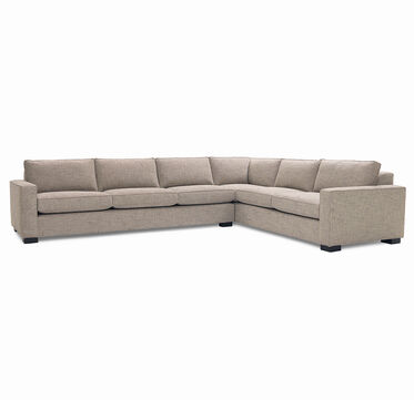 CARSON SECTIONAL SOFA, HOLLINS - DARK TAUPE, hi-res