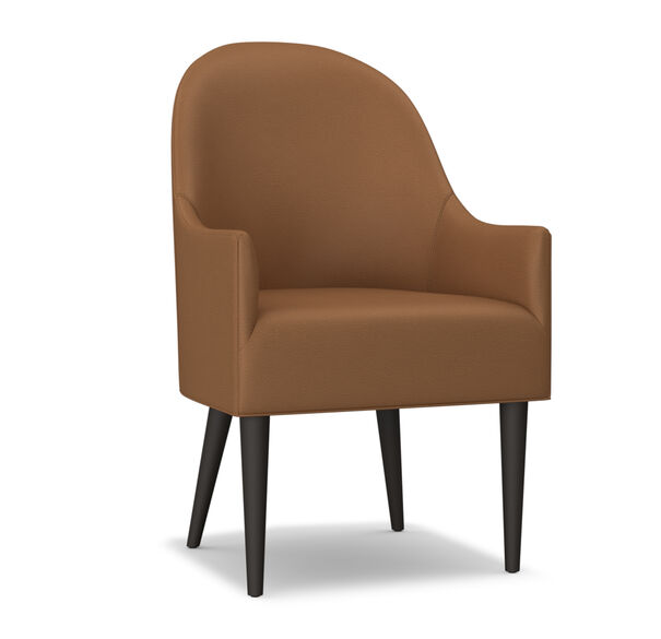 BELLA LEATHER ARM CHAIR, , hi-res