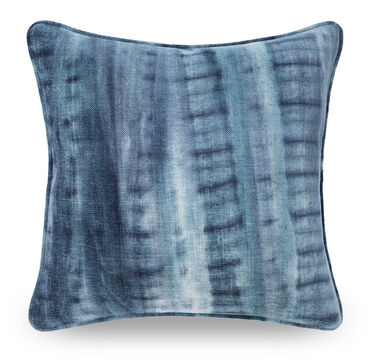 22 IN. SQUARE THROW PILLOW, MASON - INDIGO, hi-res