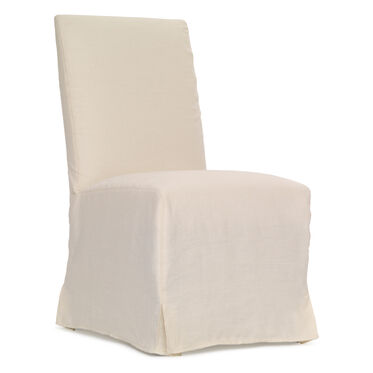 JULIA SIDE DINING CHAIR - SLIPCOVER, , hi-res