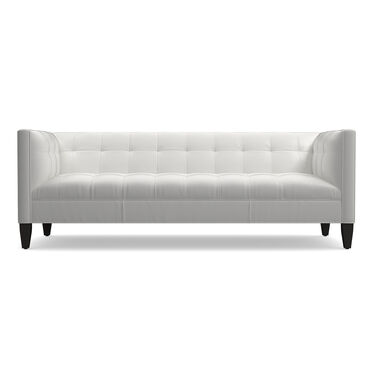 KENNEDY LEATHER SOFA, TAHOE - WHITE, hi-res