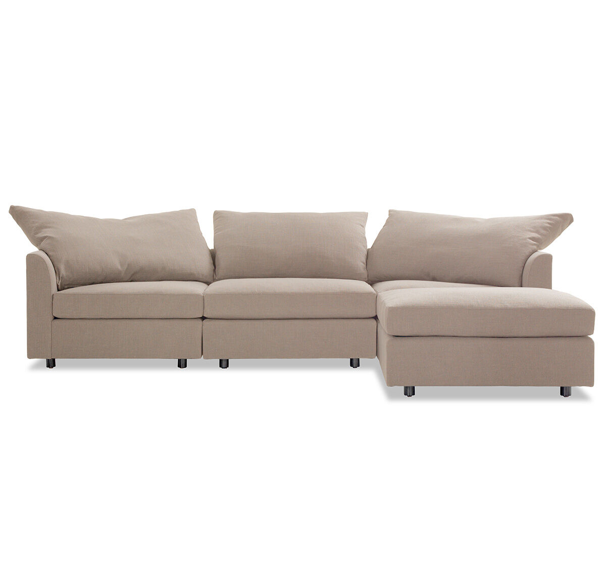 BIG EASY SECTIONAL SOFA, LINGO   CHARCOAL, Hi Res
