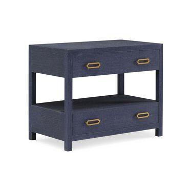 ARIEL 2 DRAWER BEDSIDE TABLE, , hi-res