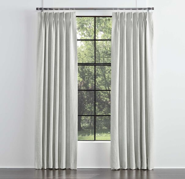 LEGACY BASIC DOUBLE PANEL DOUBLE PLEAT, LEGACY - SILVER, hi-res