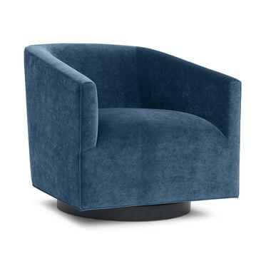 COOPER STUDIO FULL SWIVEL CHAIR, BOULEVARD - DEEP BLUE, hi-res