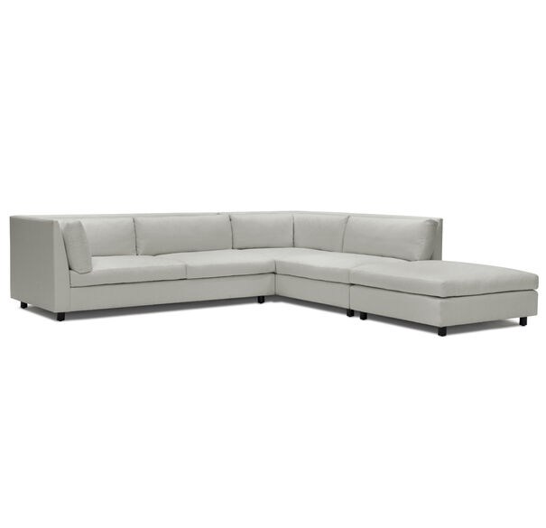 FRANCO RIGHT SECTIONAL SOFA, TERRACE - PEWTER, hi-res
