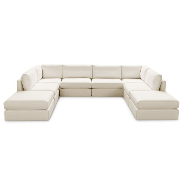 FRANCO II CLASSIC 8 PIECE SECTIONAL, , hi-res
