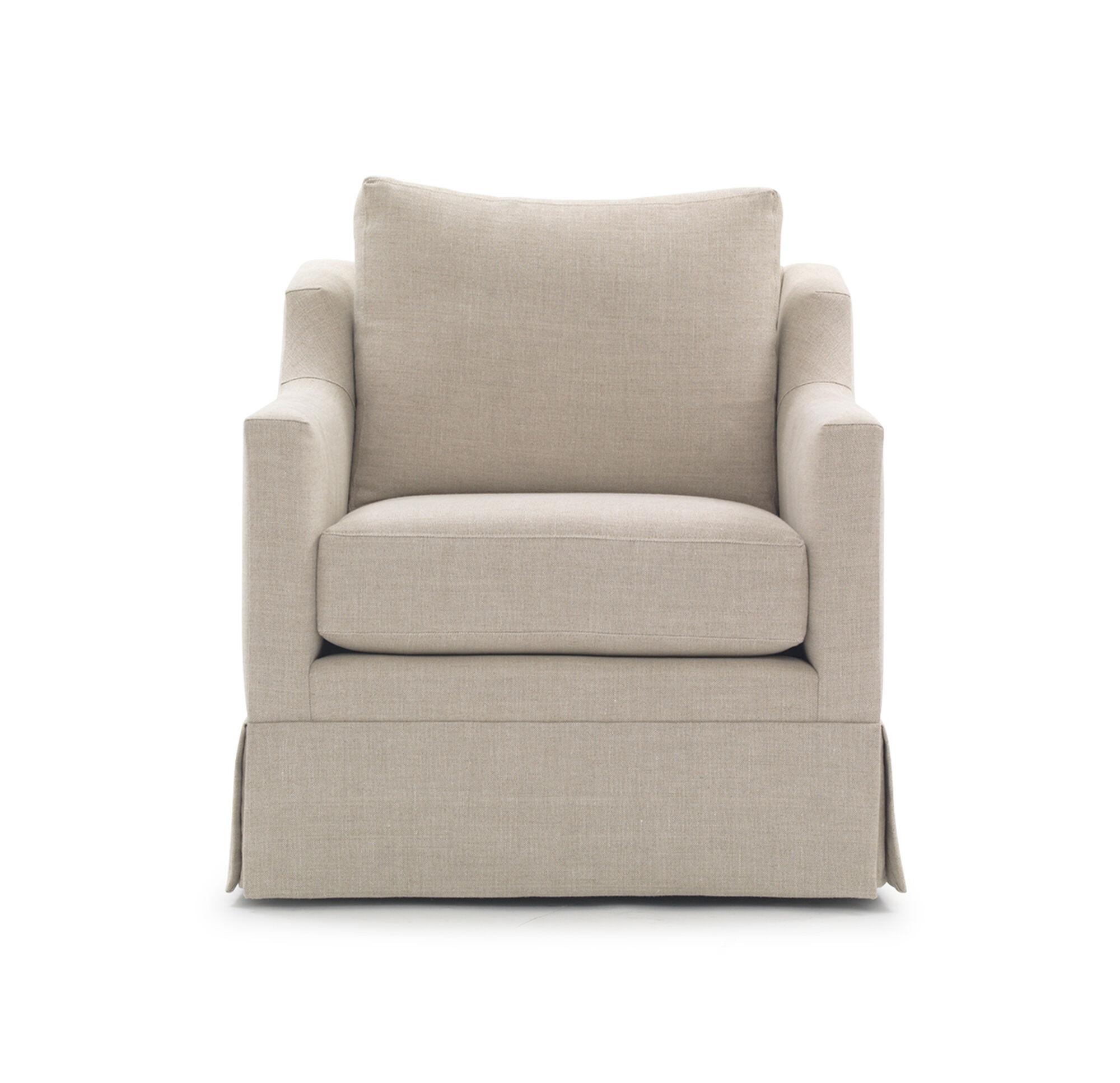Gigi Skirted Full Swivel Chair