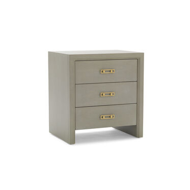 MALIBU 3 DRAWER CHEST - GRAY, , hi-res