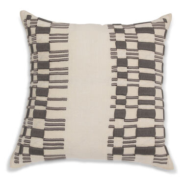 TEMPO BULLION EMBROIDERY THROW PILLOW, , hi-res