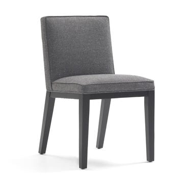 CAMERON SIDE DINING CHAIR, WHIT - CHARCOAL, hi-res