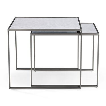 ASTOR NESTING SIDE TABLE - PEWTER, , hi-res