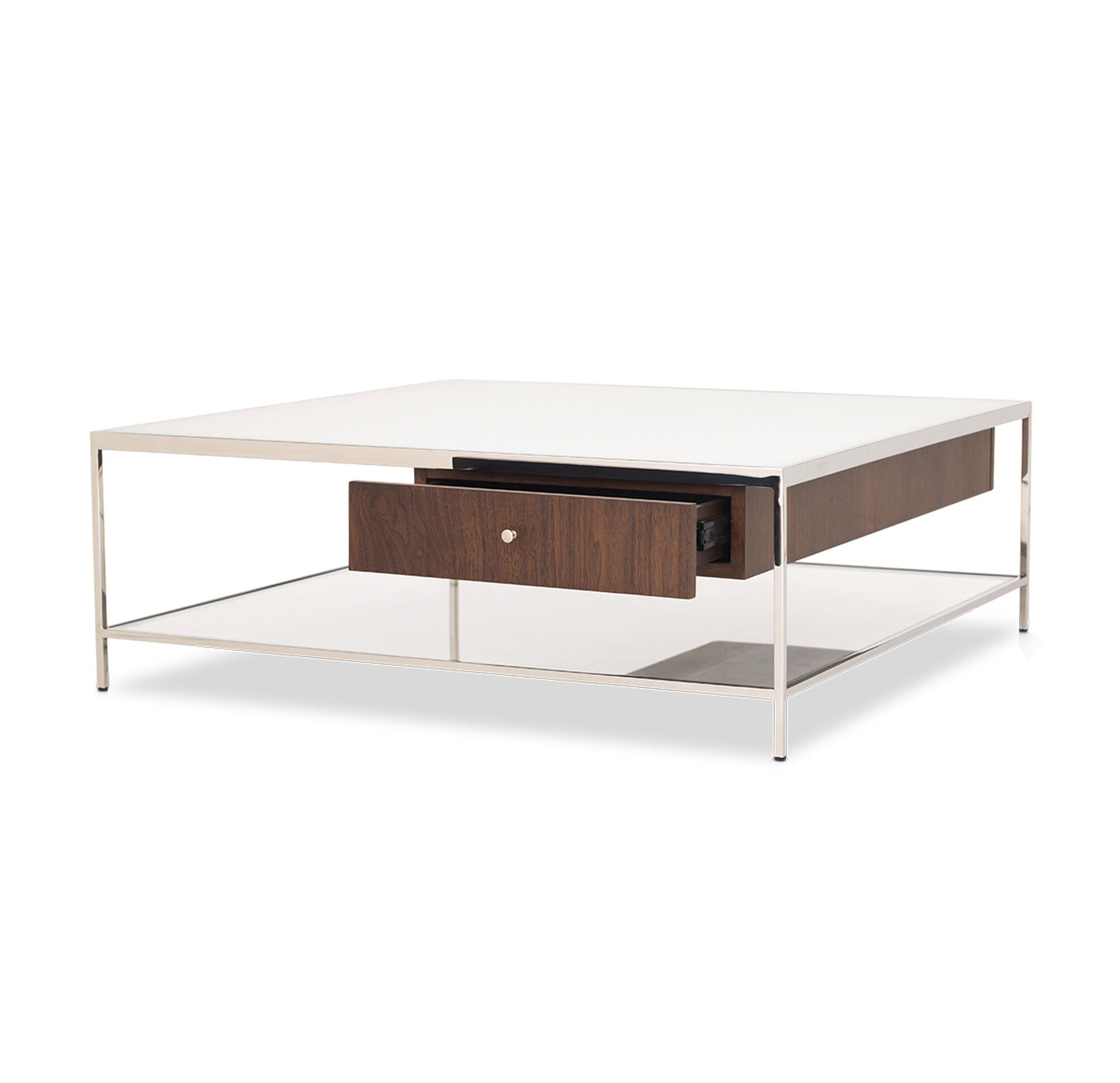 Manning Square Coffee Cocktail Table Walnut