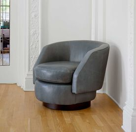 DELL LEATHER SWIVEL CHAIR