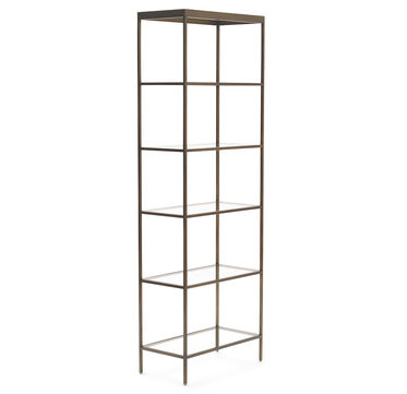 VIENNA BOOKCASE - ANTIQUE BRASS, , hi-res