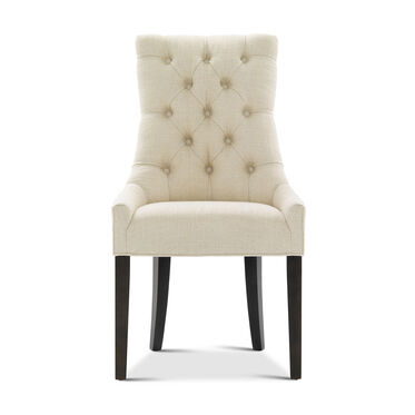 ADA TUFTED SIDE DINING CHAIR, WORTH - CREAM, hi-res