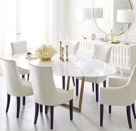 ADA ARM DINING CHAIR, Performance Textured pebble Weave - CREAM, hi-res