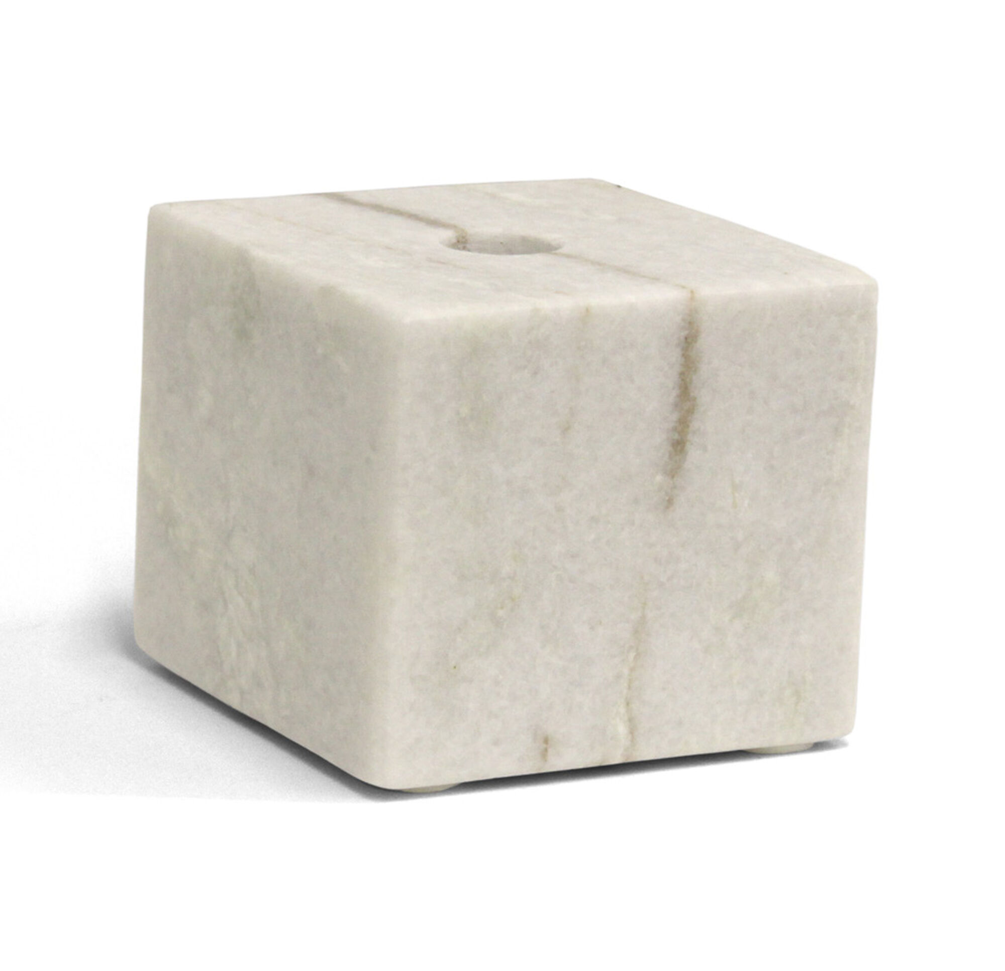 Marble Small Block : Small marble block candle holder