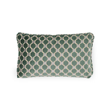 "VELVET 19"" X 11"" ACCENT PILLOW, ORLA - MULTI, hi-res"