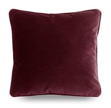 21 IN. SQUARE THROW PILLOW, AVIGNON - MERLOT, hi-res