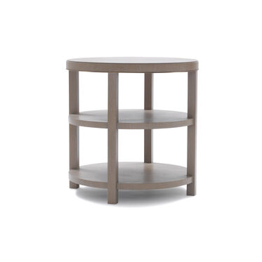 LISBON ROUND SIDE TABLE - NATURAL, , hi-res