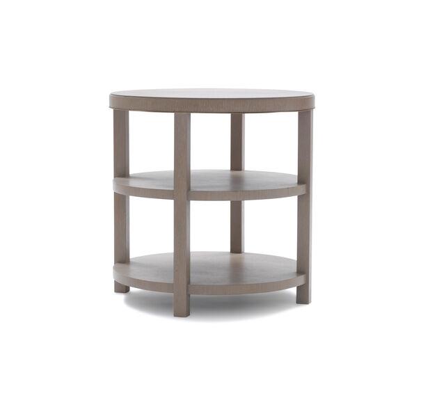 LISBON ROUND SIDE TABLE - NATURAL, , hi-res