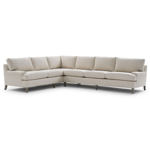 COLTON RIGHT SECTIONAL, DUNHAM - FLAX, hi-res