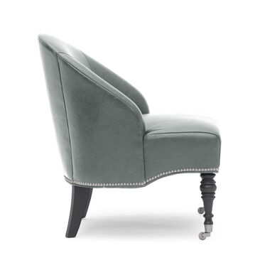 MAE LEATHER CHAIR, MONT BLANC - WOLF, hi-res