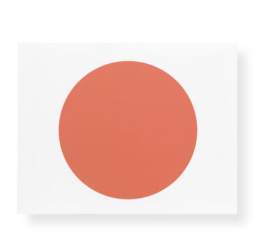 RED DISC WALL ART, , hi-res
