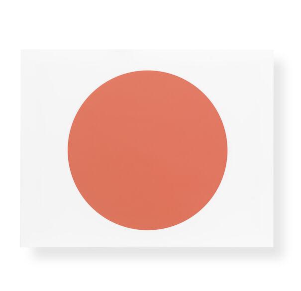 RED DISC WALL ART, , hi-res