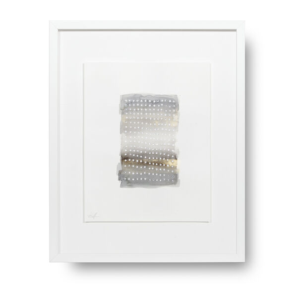 GRAY GRID STORY WALL ART, , hi-res