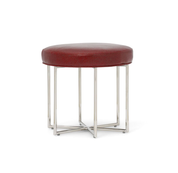 ASTRA LEATHER PULL-UP STOOL, , hi-res