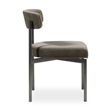REMY DINING CHAIR - PEWTER, BOULEVARD - CAFE, hi-res