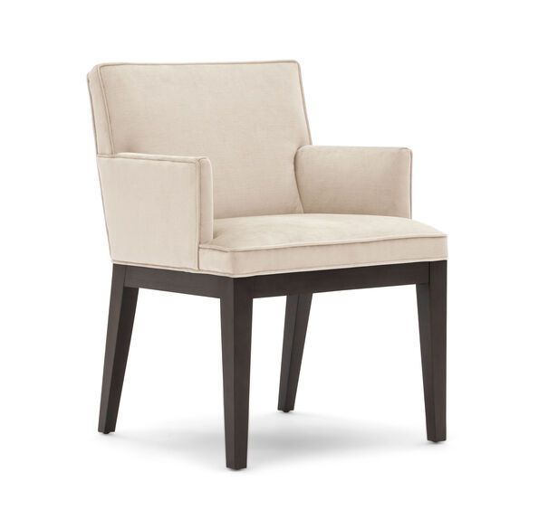 CAMERON ARM DINING CHAIR, PIPPIN - CREAM, hi-res