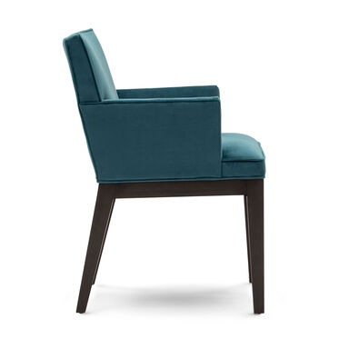 CAMERON ARM DINING CHAIR, PIPPIN - TEAL, hi-res
