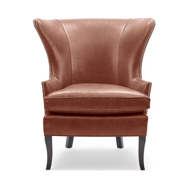 WILL LEATHER CHAIR, MONT BLANC - CHIANTI, hi-res