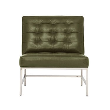 MAJOR LEATHER CHAIR, MONT BLANC - WINTER PINE, hi-res