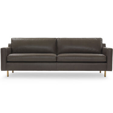 HUNTER LEATHER SOFA, ROJO - WOLF, hi-res