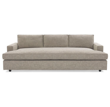 CARSON MEDIA SOFA, HOLLINS - DARK TAUPE, hi-res